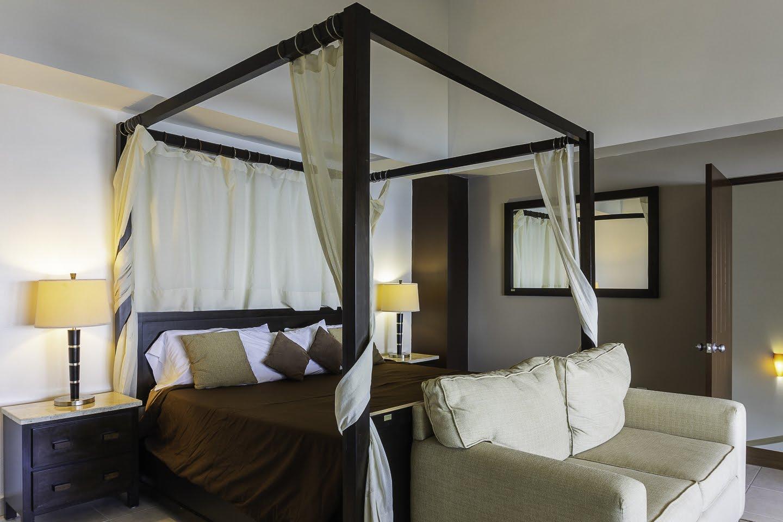 2nd Level Master Bedroom Beachfront Penthouse Luxury Condo Nuevo Vallarta