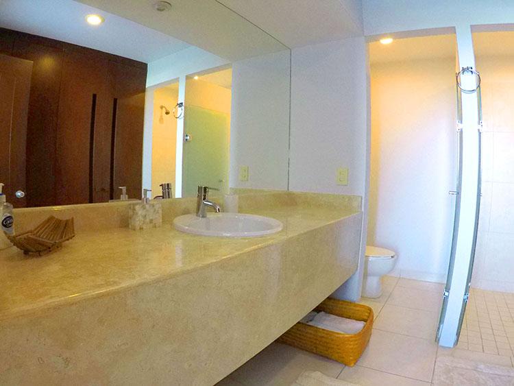 Baño de Visitas- Departamento en Venta Villa Magna Nuevo Vallarta Nayarit
