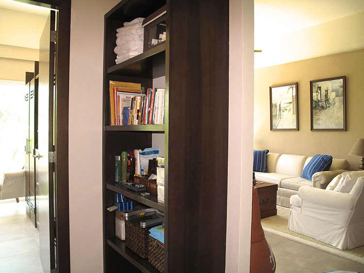 Bookcase 2 Bedroom Condominium In 3.14 Living Nuevo Vallarta