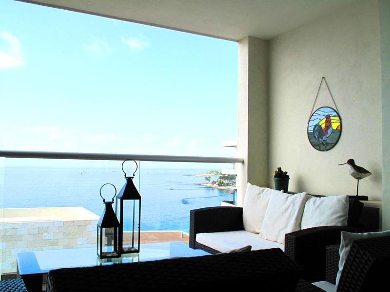 Ocean Front Barlovento Condo for sale Bucerias