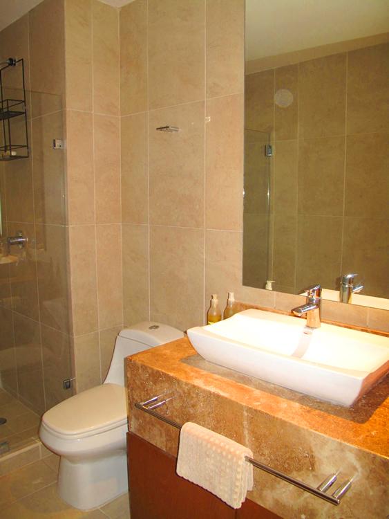 Baño recámara Condominio Barlovento la Cruz de Huanacaxtle