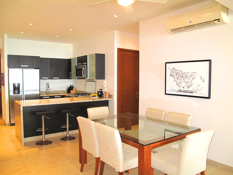 Dinning room Barlovento Condo for sale Bucerias