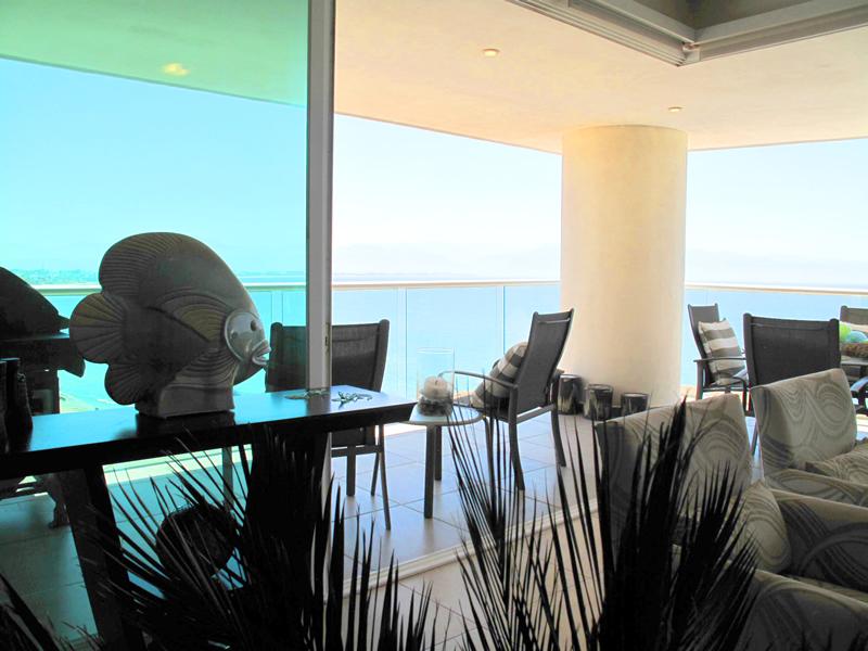 Doble vista al mar Condominio Barlovento en venta La Cruz de Huanacaxtle
