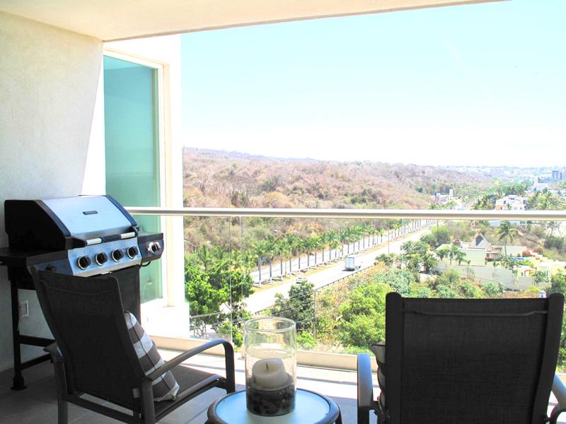 Asador en terraza Condominio Barlovento en venta La Cruz de Huanacaxtle