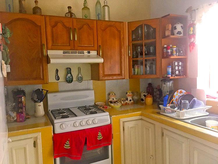 Cocina Casa de dos niveles 3 Recamaras en Ixtapa Jalisco