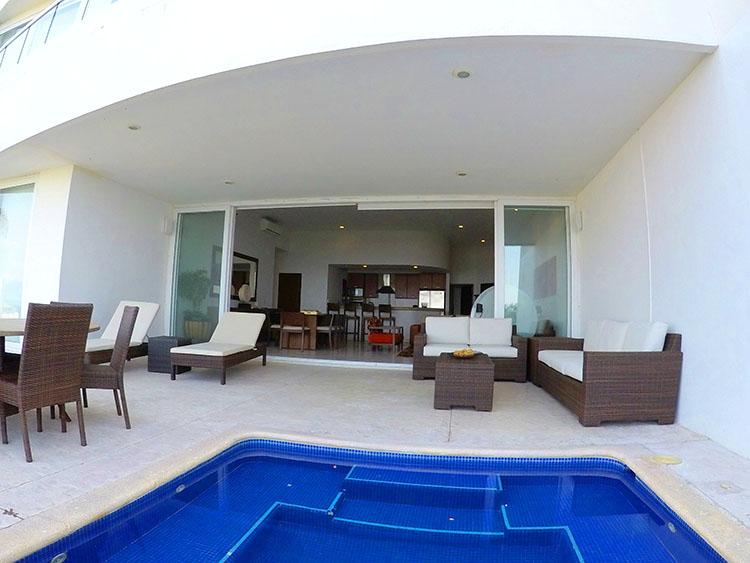 Departamento en primer piso con vista al mar en Venta Villa Magna Nuevo Vallarta Nayarit