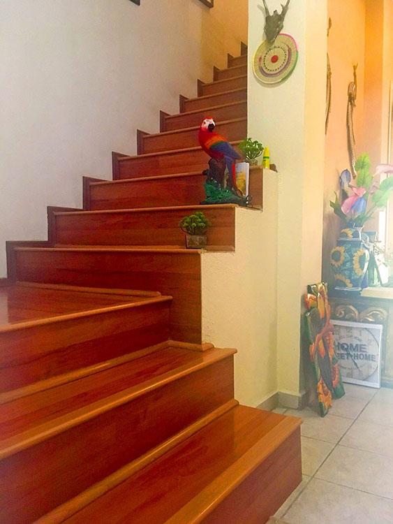 Escaleras Casa de dos Niveles Recamaras en Ixtapa Jalisco