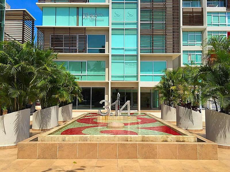 Fountain -3.14 Living in Nuevo Vallarta