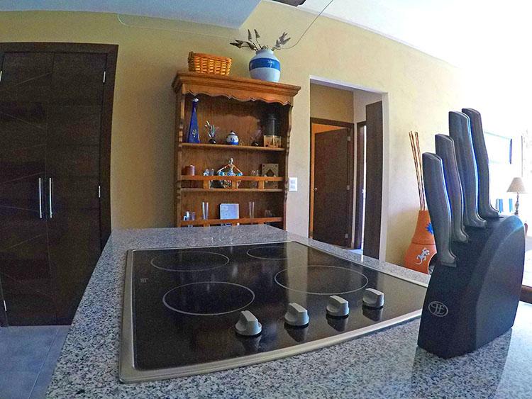 Granite Kitchen Counter 2 Bedroom Condominium in 3.14 Living Nuevo Vallarta