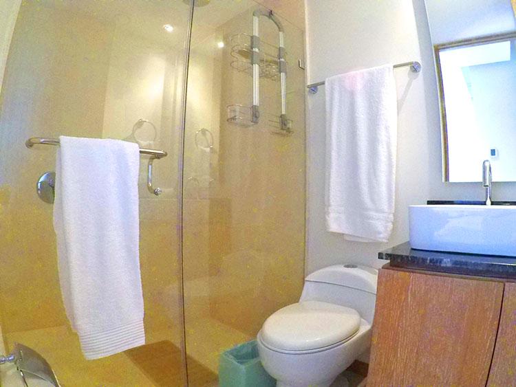 Guest bathroom Penthouse Beach-Front Peninsula Nuevo Vallarta Mexico
