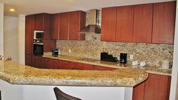 Kitchen Villa Magna Ground Floor Condominium Beach-Front Nuevo Vallarta