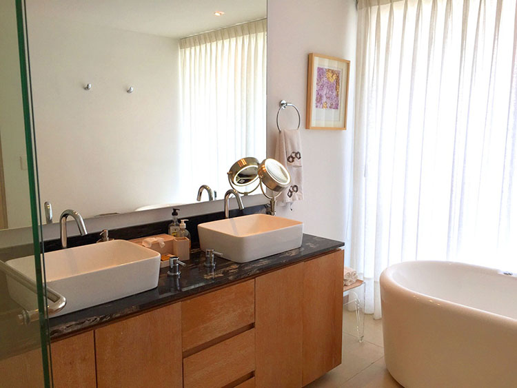 Master Bathroom-Ocean Front Corner Penthouse In Peninsula Nuevo Vallarta
