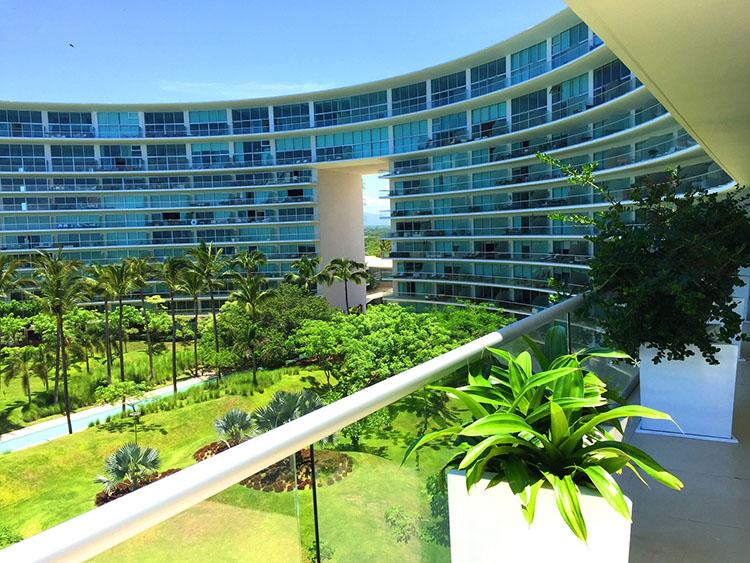 Vista A Los Jardines-Penthouse En Esquina Frente Al Mar En Península Nuevo Vallarta