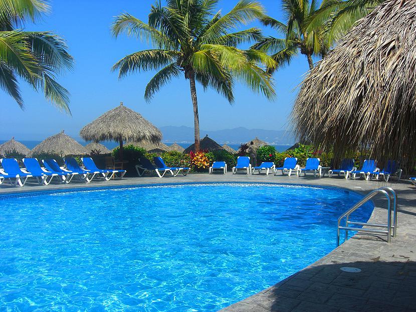 Alberca Desarrollo Playa Royale en Nuevo Vallarta