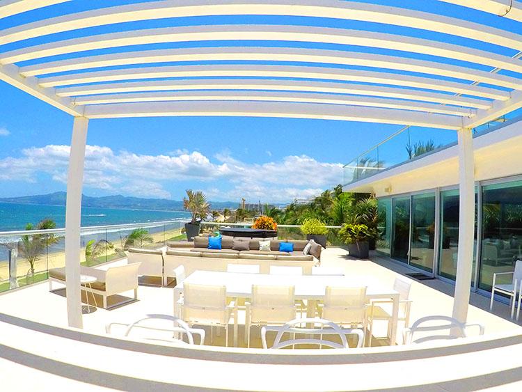 Amplio Terraza- Penthouse frente al mar, Península Nuevo Vallarta México