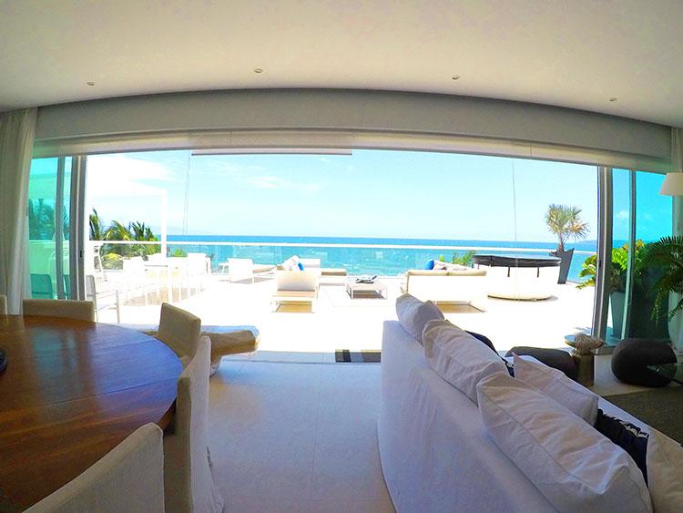 Amplio y Espacioso Diseño- Penthouse frente al mar, Península Nuevo Vallarta México