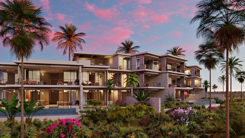 Apartamentos frente a la playa Desarrollo Susurros del Corazón Punta de Mita Nayarit México