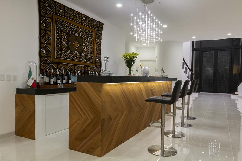 Área bar Casa de lujo en venta El Tigre Nuevo Vallarta Nayarit México