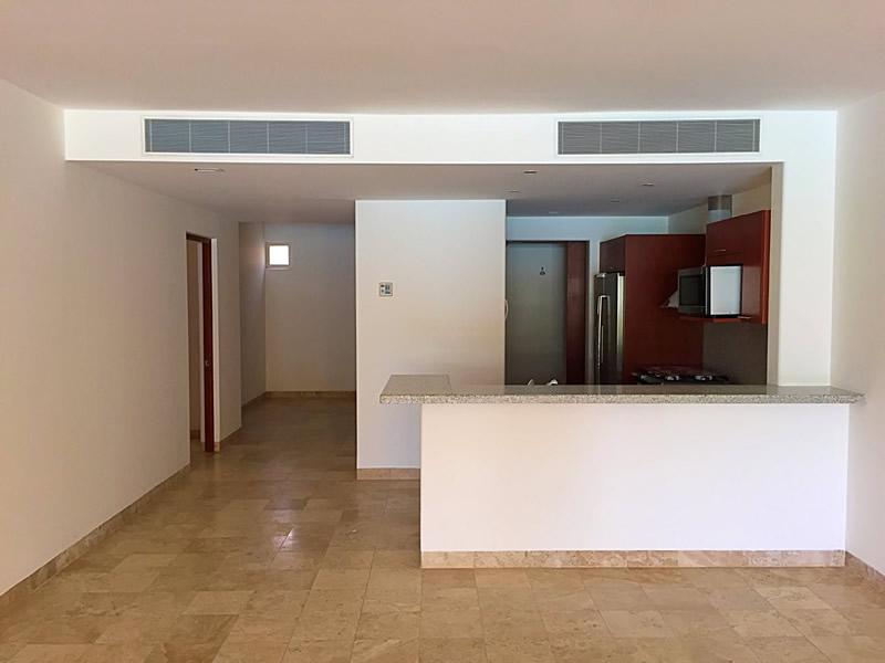 Área cocina Condominio Isla Palmares en el Campo de Golf El Tigre en Nuevo Vallarta
