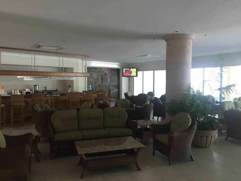 Área de descanso Paradise Village El Tigre Golf Country Club Nuevo Vallarta
