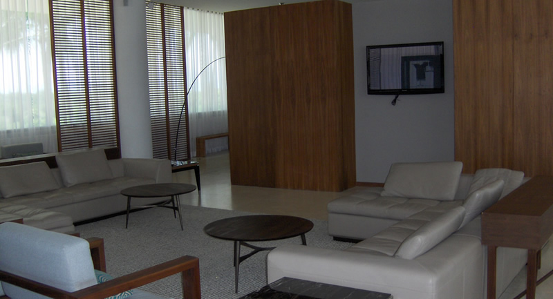 Área de descanzo Condominio Península en Nuevo Vallarta