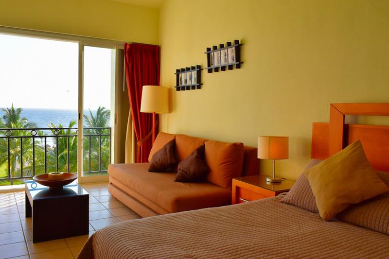 Área descanso Condominio Flamingos Beach Resort en venta, Nuevo Vallarta