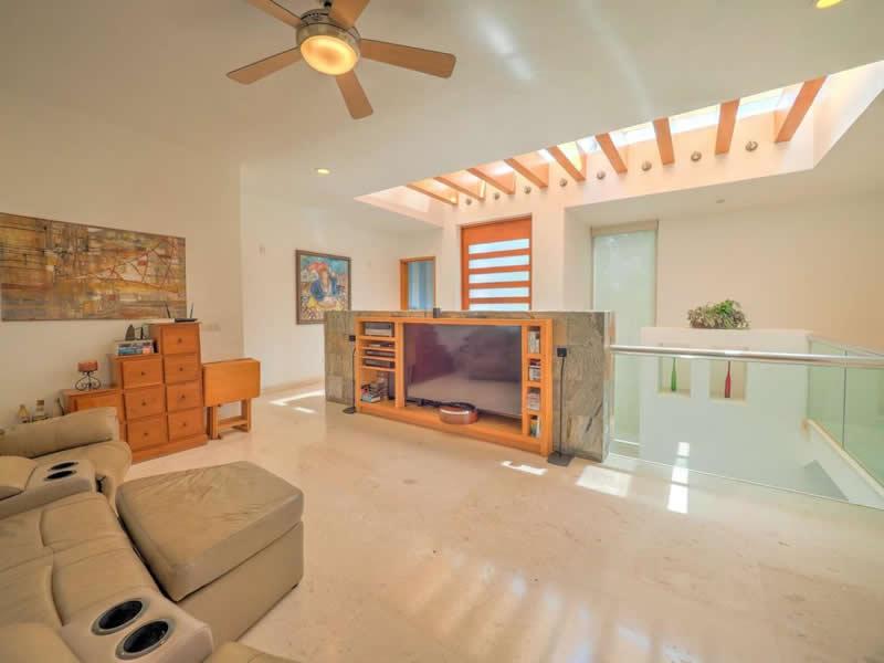 Área de entretenimiento Casa con alberca en venta El Tigre Nuevo Vallarta