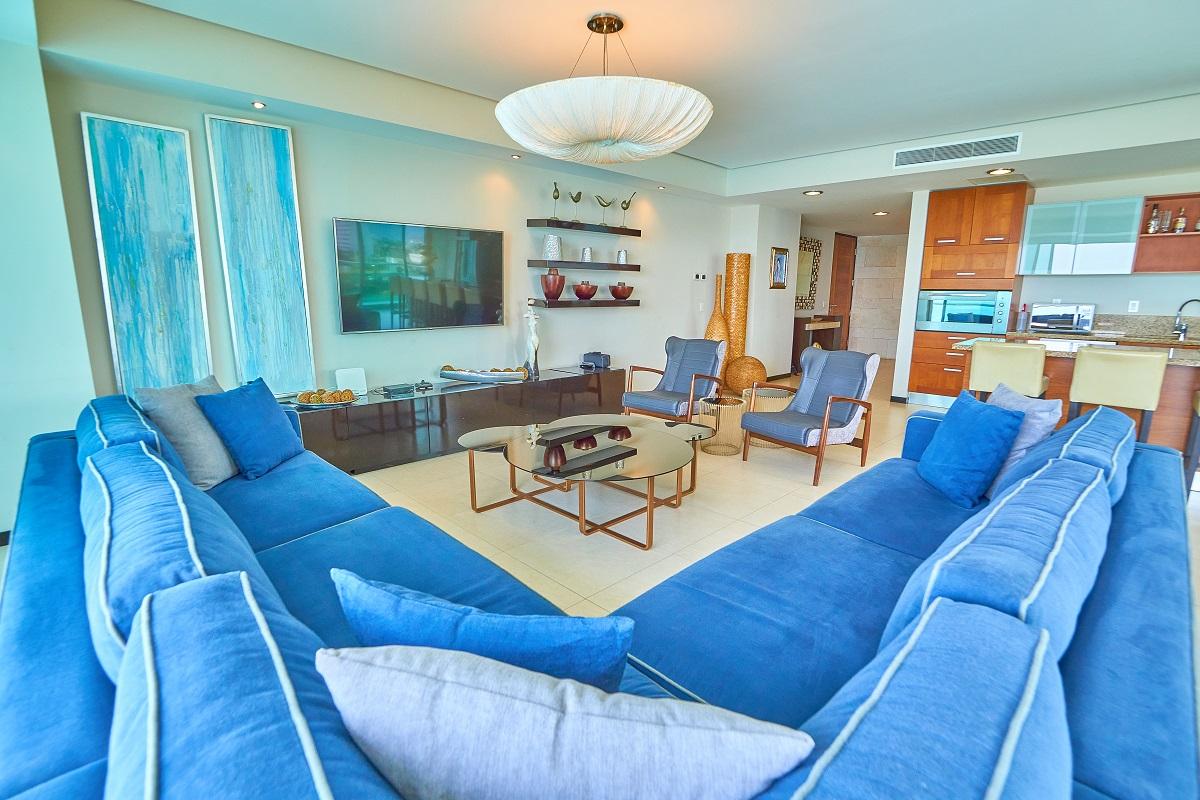 Área entretenimiento Península Puerto Vallarta Condominio en venta