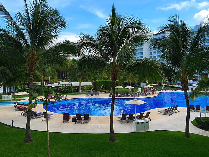 Área piscina Condominio Villa Magna Nuevo Vallarta