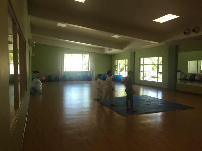 Área de yoga y pilates Paradise Village El Tigre Golf Country Club Nuevo Vallarta