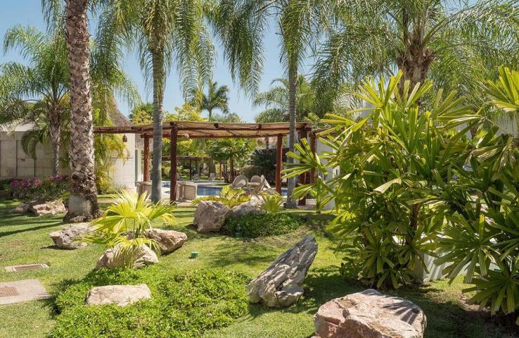 Áreas verdes Conjunto Residencial Real Nuevo Vallarta Nayarit México
