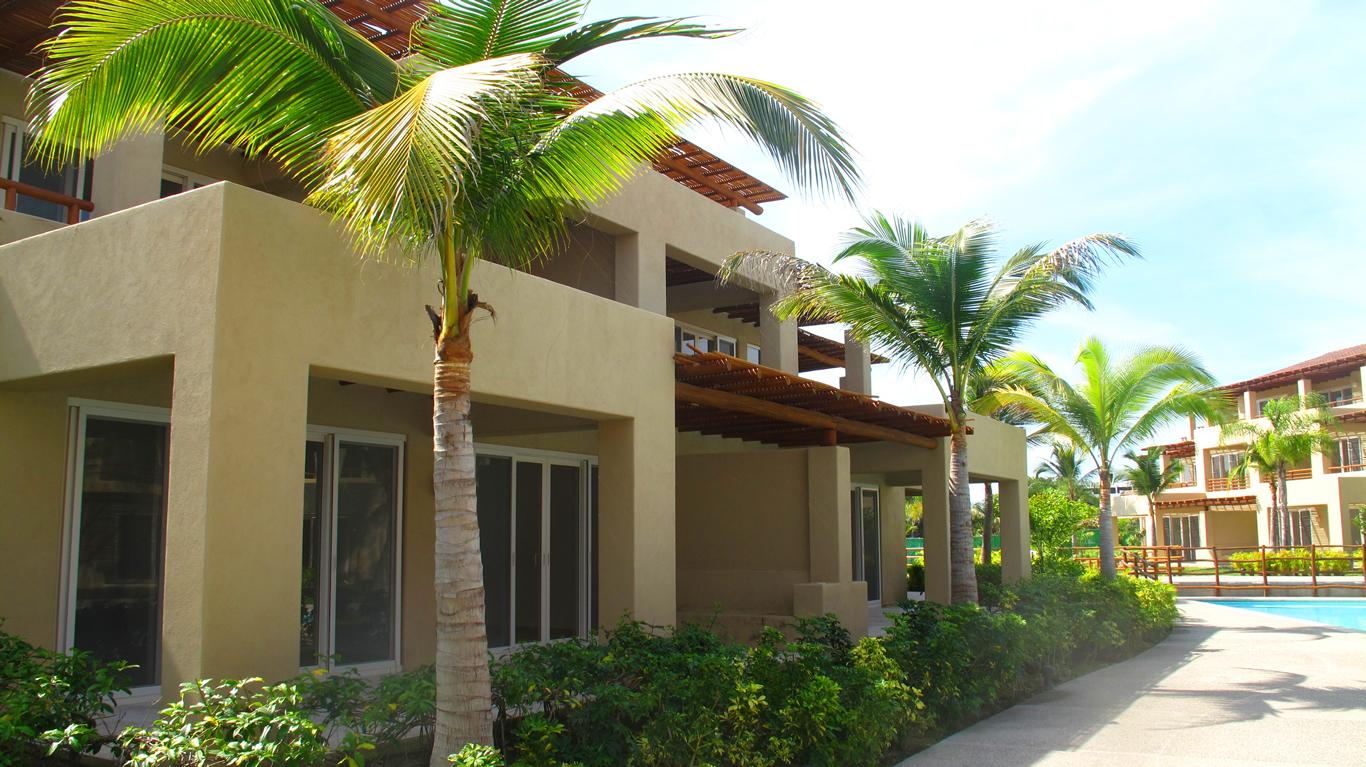 Arquitectura Desarrollo Isla Palmares en el Tigre Club de Golf en Nuevo Vallarta