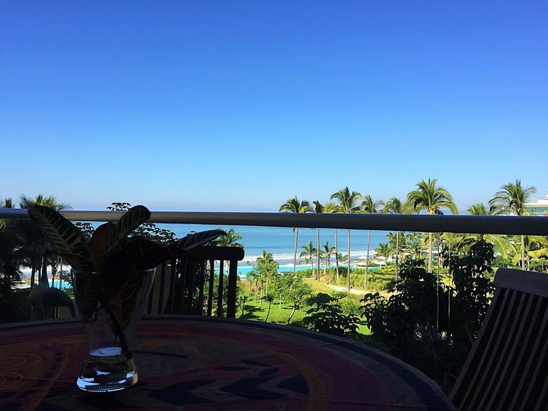 Balcón con vista al oceano Condominio en Venta Península Nuevo Vallarta Nayarit México Desarrollo Habitacional