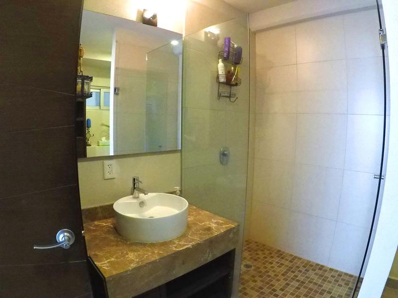 Baño completo Apartamento en Venta 3.14 Living Nuevo Vallarta Nayarit