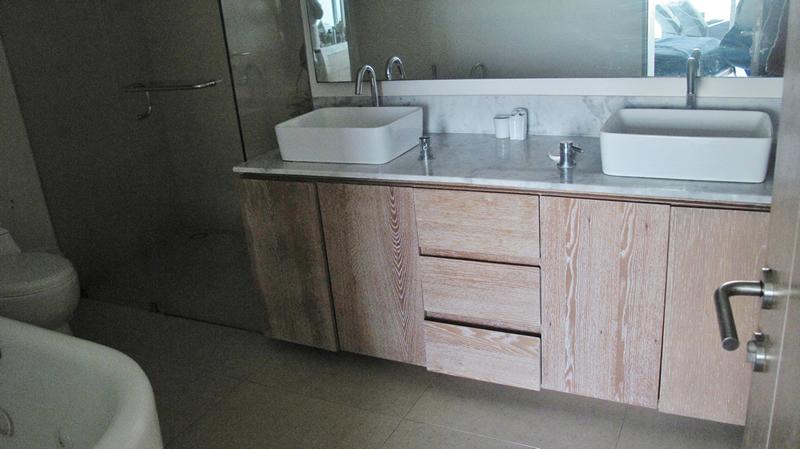 Baño con jacuzzi Condominio Peninsula en Nuevo Vallarta Nayarit
