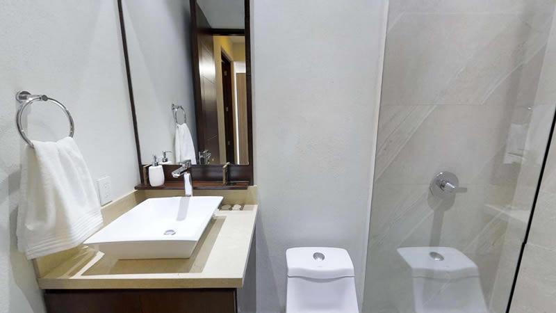 Baño Condominio en venta Punta Paraíso San Pancho Riviera Nayarit