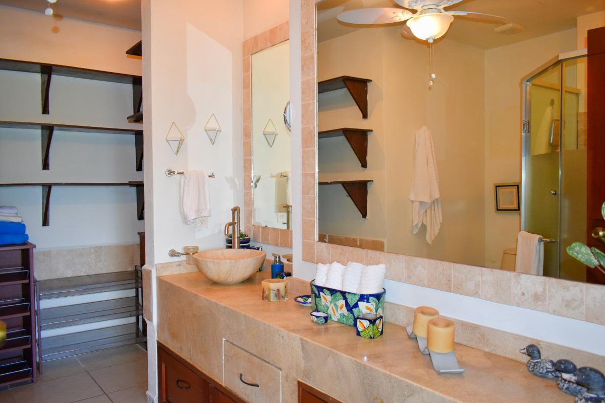 Baño Penthouse Green Bay, El Tigre, Nuevo Vallarta