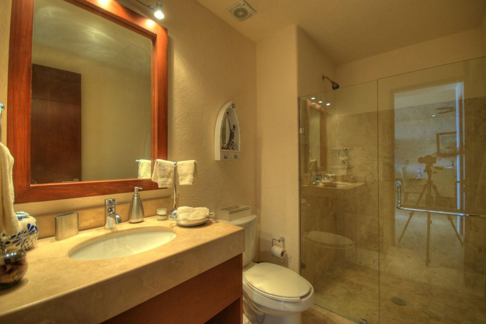 Baño Departamento en venta Punta Esmeralda Resort La Cruz de Huanacaxtle