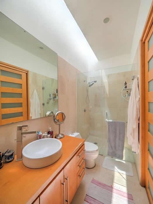 Baño con regadera Casa con alberca en venta El Tigre Nuevo Vallarta, Nayarit