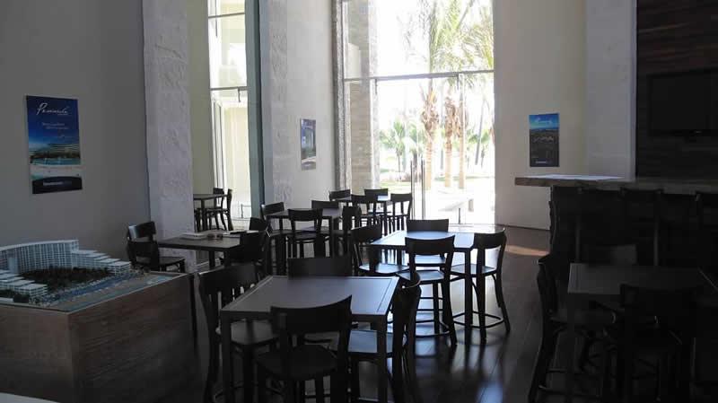 Bar Condominio Península Golf en Nuevo Vallarta