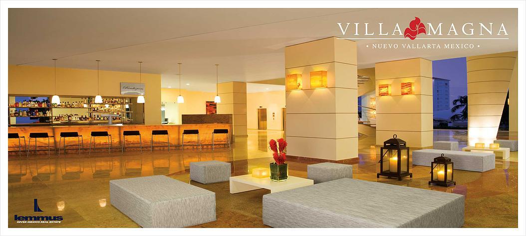 Bar Condominio Villa Magna en Nuevo Vallarta