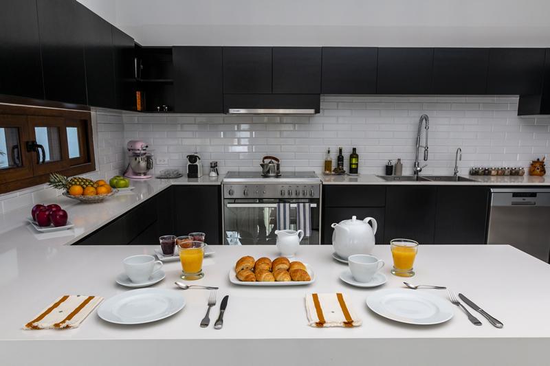 Barra cocina Casa de lujo en venta El Tigre Nuevo Vallarta Nayarit México