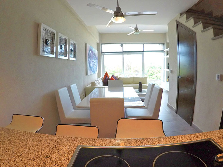 Barra Condominio 3.14 en Nuevo Vallarta dos recamaras