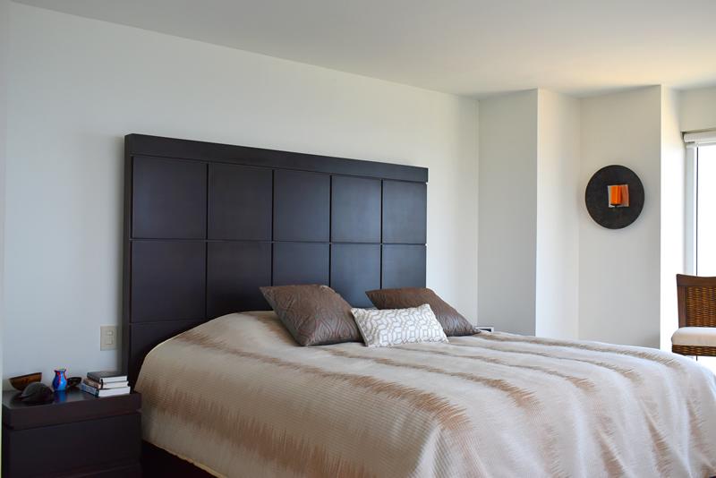 Cama habitación Condominio con vista al Mar en Venta Villa Magna Nuevo Vallarta
