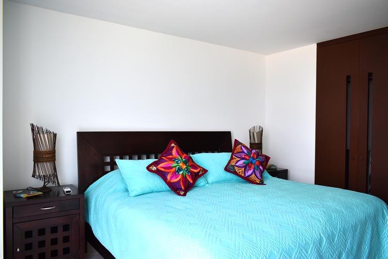 Cama recámara Condominio con vista al Mar en Venta Villa Magna Nuevo Vallarta