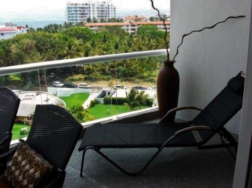 Camastro balcón Condominio Villa Magna Nuevo Vallarta