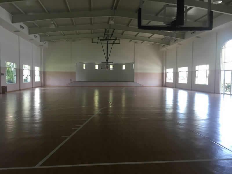 Cancha de basquetbol Paradise Village El Tigre Golf Country Club Nuevo Vallarta