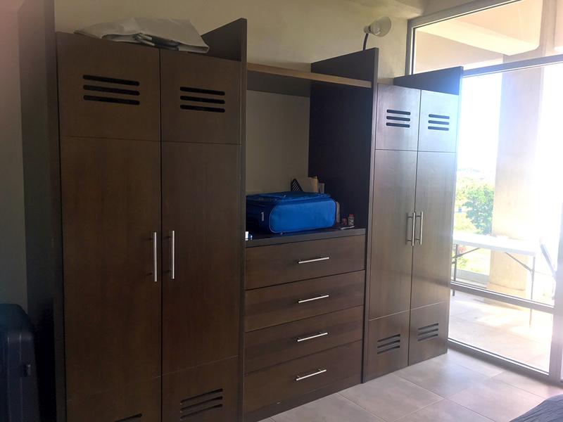 Closet recámara Penthouse en Venta Nuevo Vallarta en Condominio 3.14 Living