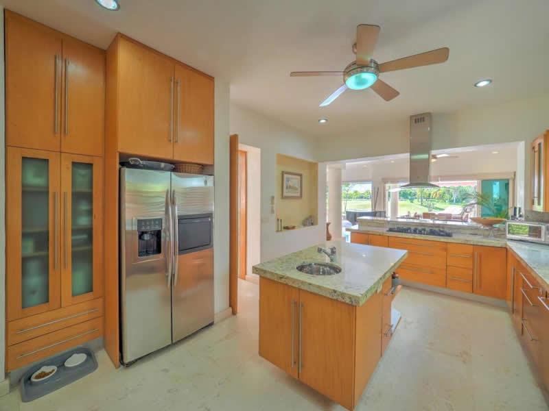 Cocina Casa con alberca en venta El Tigre Nuevo Vallarta, Nayarit