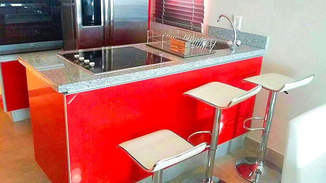Cocina Condominio 3.14 en Nuevo Vallarta Dos Recamaras